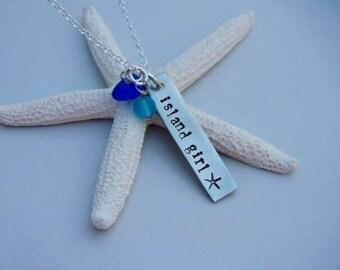 Island Girl Bar Necklace