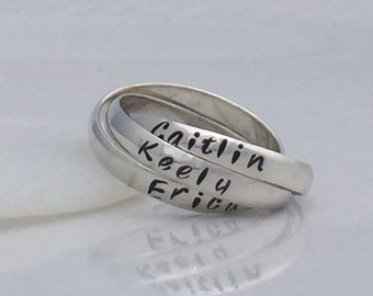 Personalized Interlocking Rings