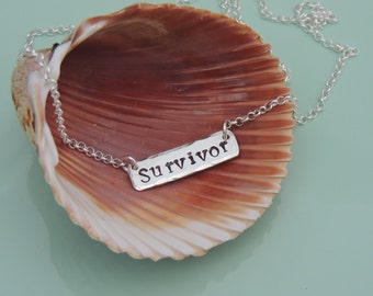NEW! SURVIVOR Necklace