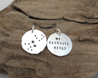 Personalized Constellation Charm