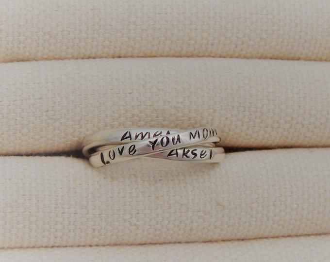 Personalized Interlocking Rings