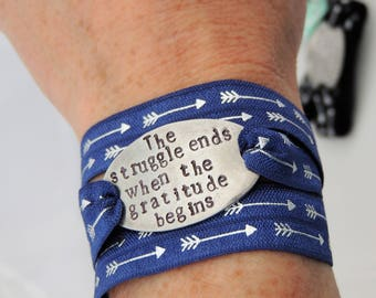 NEW DESIGNS - Custom Wrap Bracelet