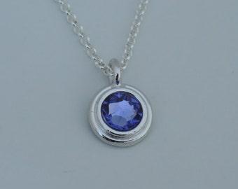 Swarovski Birthstone Necklace