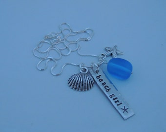Beach Girl Bar Necklace