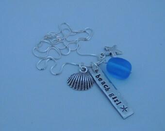 Beach Girl Bar Necklace