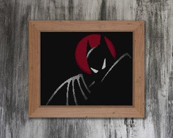 The Dark Knight Cross Stitch Pattern