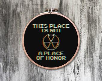 Place of Honor Cross Stitch Pattern