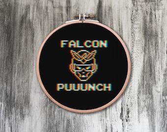 Falcon Punch! Cross Stitch Pattern