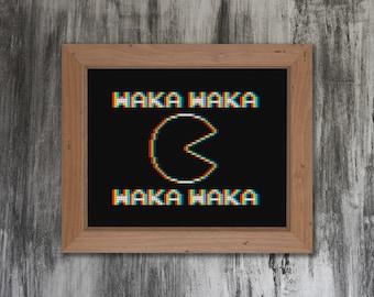 Waka Waka Cross Stitch Pattern
