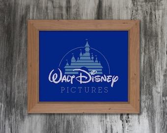 Walt Disney Pictures Cross Stitch Pattern