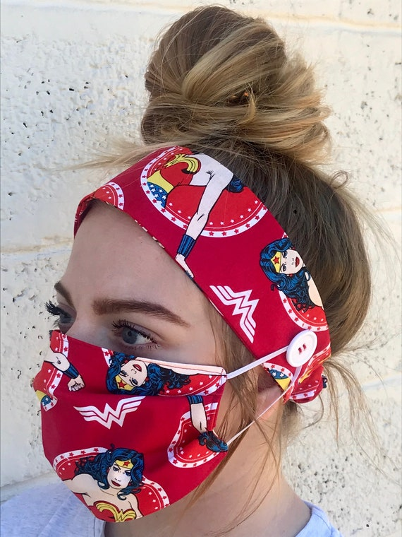 Wonder Woman 2pk headbands