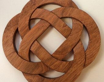Celtic Knot Trivet and Decorative Piece #fathersdaygift