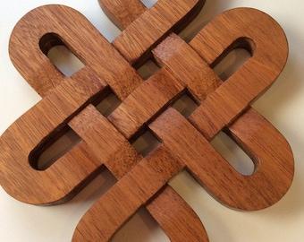 Large Celtic Knot Trivet and Decorative Piece