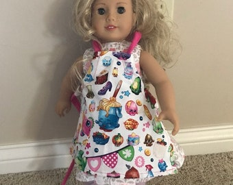 "18 "" Doll Shopkin Apron"