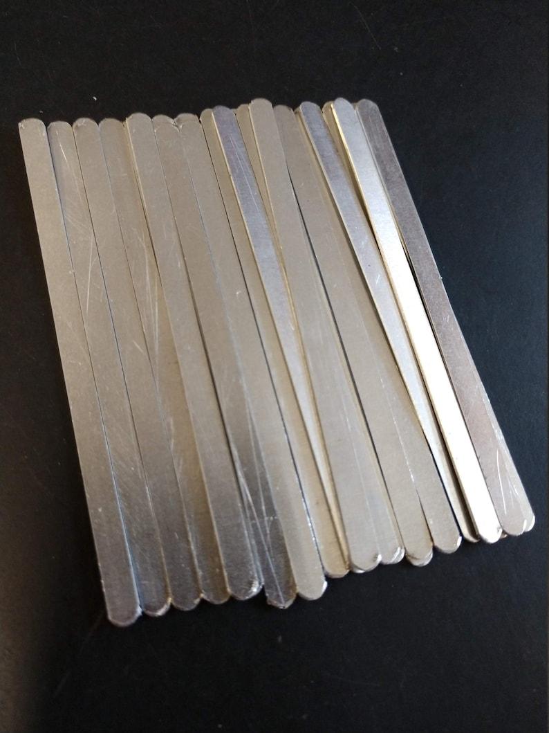 Nose Wire Aluminum strips  nose bridge for DIY face masks  image 0