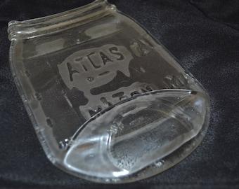 Clear Atlas Mason Jar Spoon Rest Spoonrest