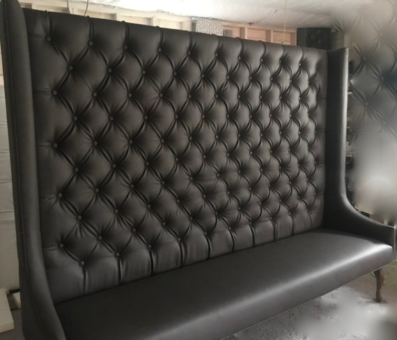 Phenomenal Tufted Banquette Seating Wingback Pabps2019 Chair Design Images Pabps2019Com