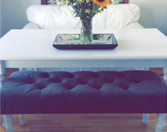 "Decorative Tufted Benches 40-50"" long"