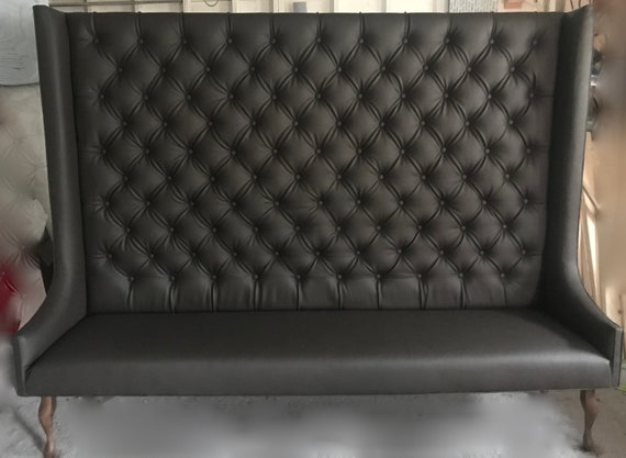 Wondrous Tufted Banquette Seating Wingback Pabps2019 Chair Design Images Pabps2019Com