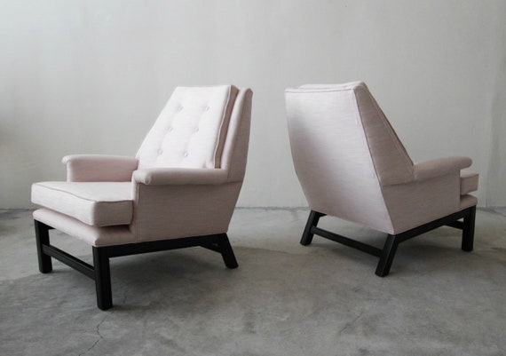 Marvelous Large Pair Of Mid Century Modern Lounge Chairs Gmtry Best Dining Table And Chair Ideas Images Gmtryco
