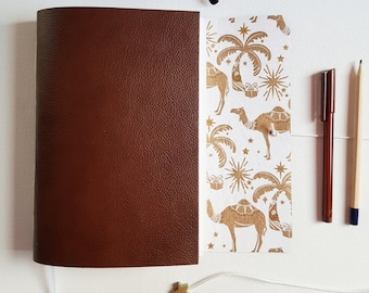 Christmas Journal, Camels, Palm Trees and Christmas Star