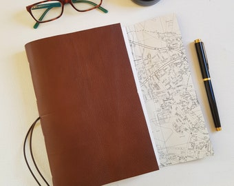 Oxford City Map Travel Journal, A5