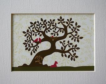 Custom Family Tree Art Print