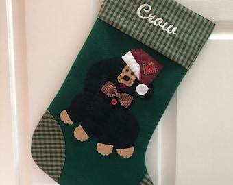 Dog Stocking, Stocking for Dog, Dog Christmas Stocking, Pet Stocking, Christmas Stocking for Dog, Dog Stocking with Name
