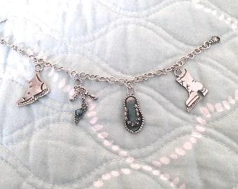 Shoe Lover's custom charm bracelet