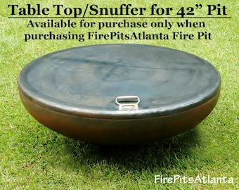 """Snuffer/Cover/Top for 42"""" Fire Pit - Shipped with fire pit only"""