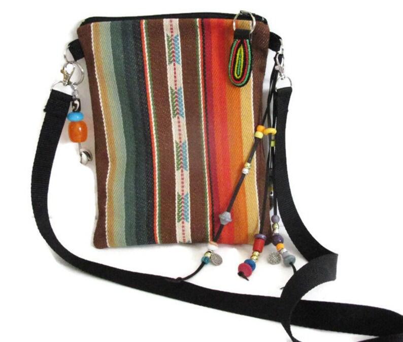 6e2e030d98a7 Crossbody Bags Native American Tribal Boho Fringe Tassel Hand Woven Cotton  Handmade Gifts For Women