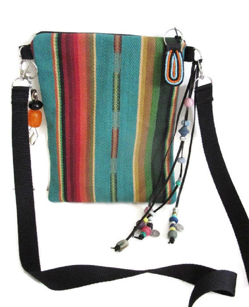 cd6c06a4938e Crossbody Bags Native American Tribal Black Panther Style Boho Fringe  Tassel Hand Woven Cotton Purse Handmade Southwest Gifts For Women