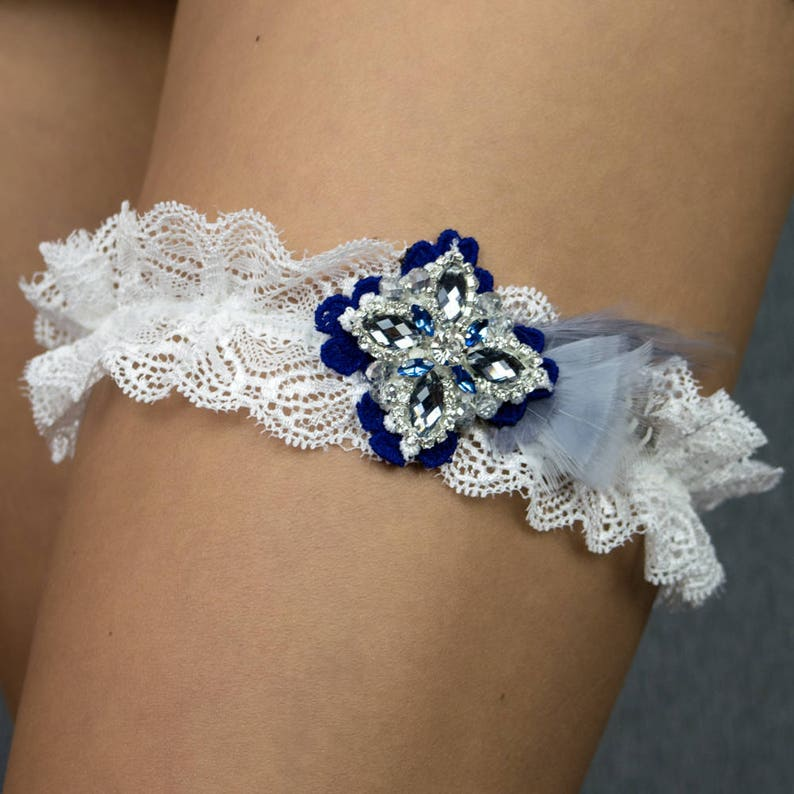 81431c7395 Liguero   liga de lujo de novia regalo ideal para una boda