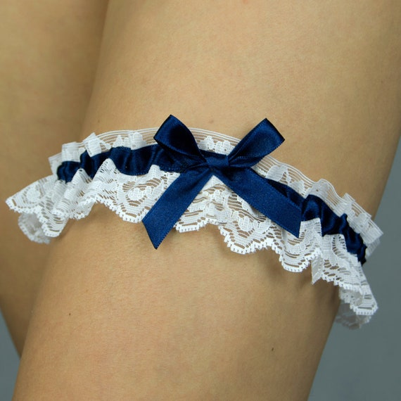 White Lace Garter Hen Night DO Bachelorette Party Favor Decor