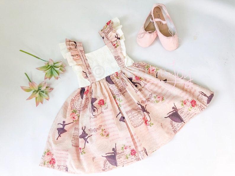 318e58e162b Girl Ballerina Dress Girl Ballet Dress Pirouette Dress