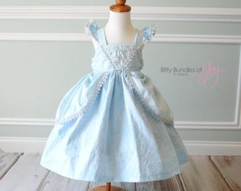 Princess Cinderella Dress, Cinderella Costume, Cinderella Birthday Dress, Princess Dress, Cinderella Cosplay, Cinderella Birthday Dress