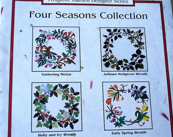 SALE -Botanical Wreaths, pattern