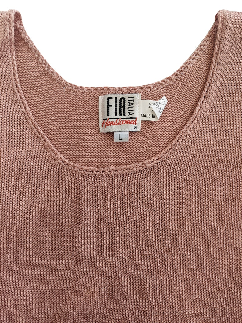 Mauve Sleeveless Sweater