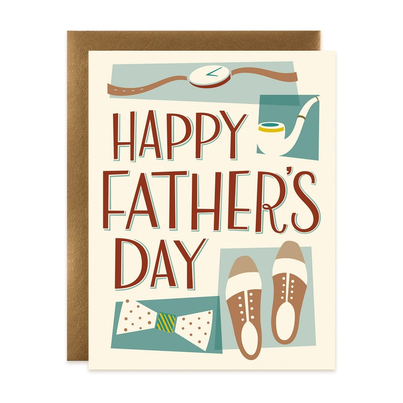 Happy Father's Day Dapper Card image 0