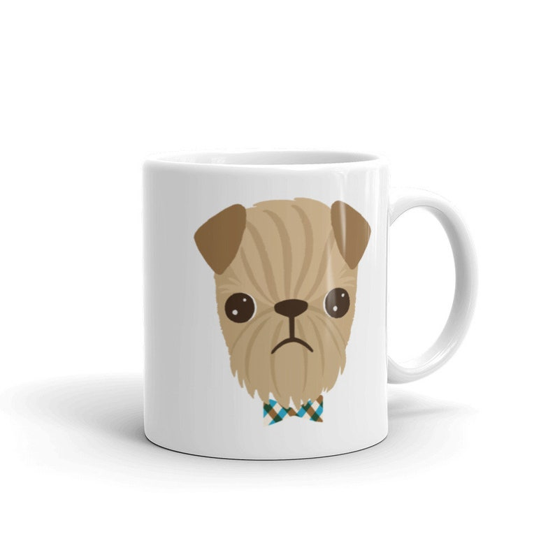 Rough Coat Brussels Griffon Mug for Griffon Lovers 11oz image 0