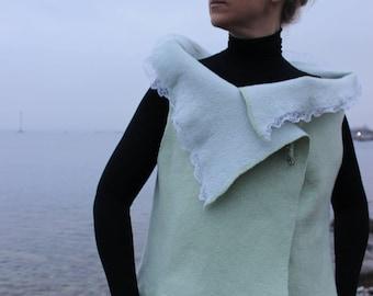 felted vest