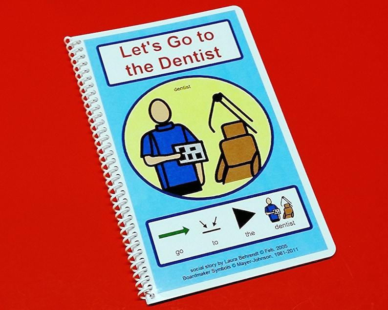 Autism Social Stories  Let's Go To The Dentist  PCS image 0