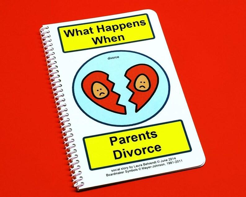 Divorce Social Story What Happens When Parents Divorce  image 0