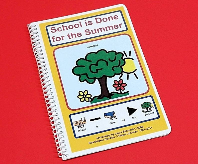 School is Done for the Summer  Autism Social Skills Story  image 0