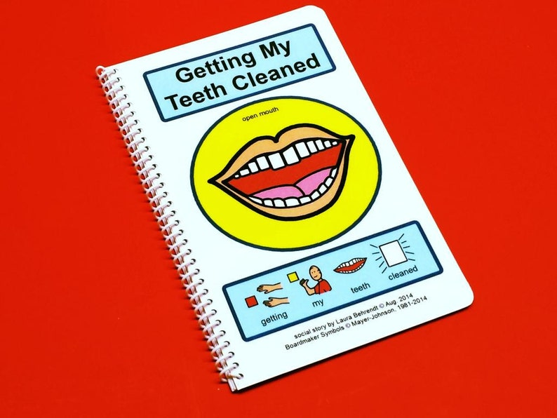 Getting My Teeth Cleaned  Autism Social Story  Dentist Visit image 0