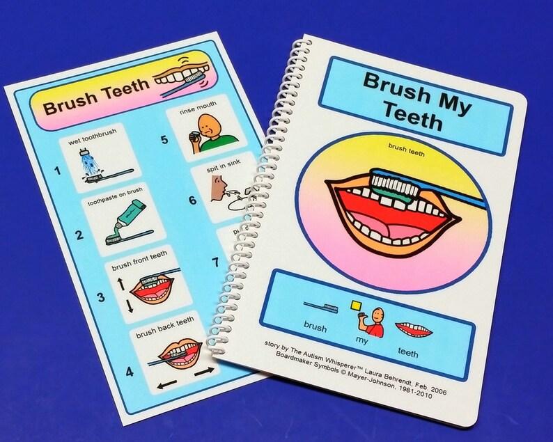 Brush My Teeth  PCS Autism Social Skills Story  ABA Autism image 0