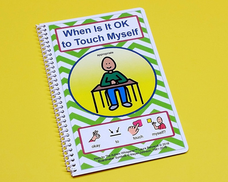 When Is It Okay To Touch Myself  Autism Social Skills Story image 0