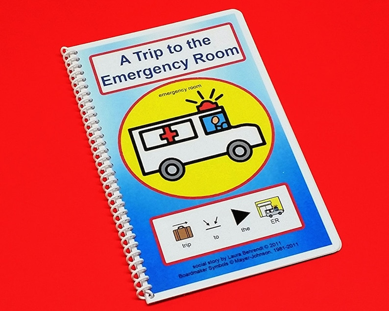 Trip to the ER  Ambulance Ride Autism Social Skills Story  image 0