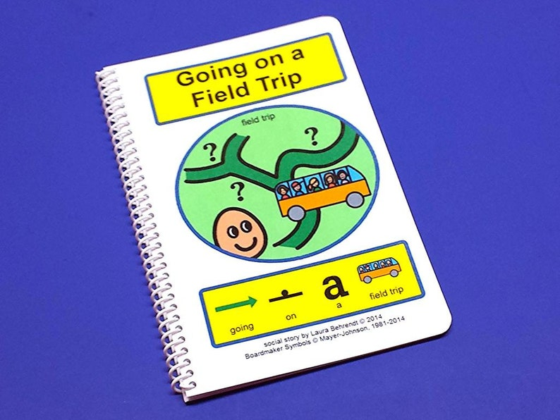 Going on a Field Trip  Autism Social Skills Story  PCS  image 0
