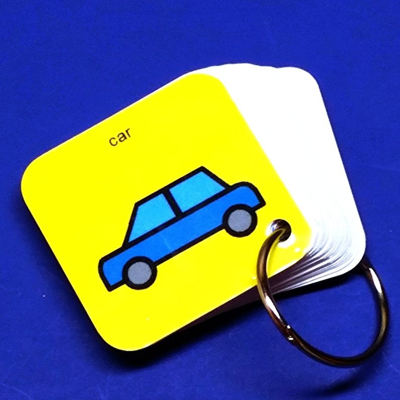 Autism EZ Travel PCS Transitional Keyring  Visual aid for image 0